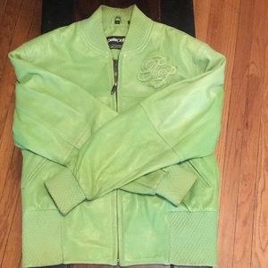 Women's retro Pellepelle leather jacket